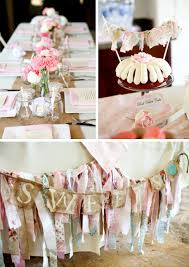 Kara s Party Ideas Vintage Shabby Chic Baby Shower