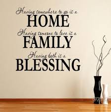 home family blessing wall quote sticker decals removable art mural home family blessing wall quote sticker decals removable art mural decor