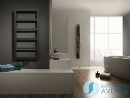 Designer Vertical Bathroom Radiator Modern Minimalist Bath - Designer bathroom store