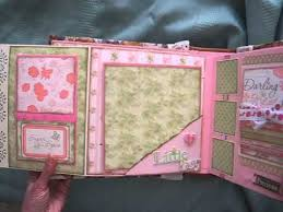 baby girl photo album baby girl scrapbook mini album based on my interactive 8x8 album