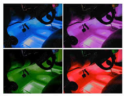 Lights For Car Interior Car Neon Light Kit Car Interior Light With Multi Colour
