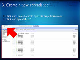 Open Google Spreadsheet How To Use Google Spreadsheet 1 Create A Gmail Account If You Do