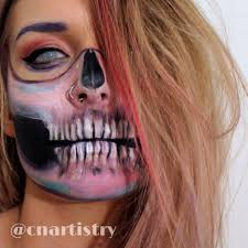 cute makeup halloween ideas this pastel skull is the perfect halloween costume with just makeup