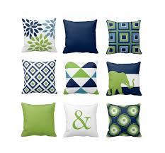 Navy Blue Decorative Pillows Contemporary Throw Pillows Stylish Contemporary Throw Pillows