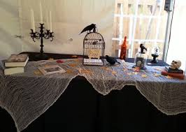 halloween tablecloth raleigh heart2heart wedding blog halloween wedding for jessica u0026 nick