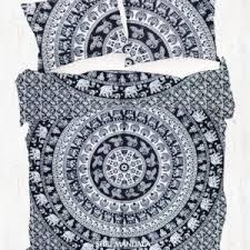 Black And White King Size Duvet Sets Mandala Duvet Cover Set Mandala Doona Covers Usa Australia