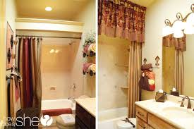 bathroom shower curtain ideas designs room by room decorating secrets