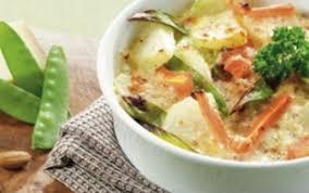 cuisiner le choux recette gratin de choux raves aux amandes et au gruyère aoc 750g