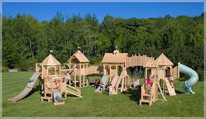 Diy Backyard Swing Set Where Can I Look Online For Building A Homemade 4x4 Swingset