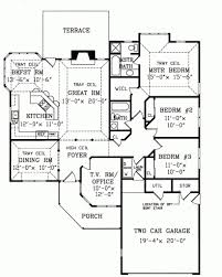 One Story Farmhouse by Splendid 6 House Plans One Story Modern Farmhouse Homeca