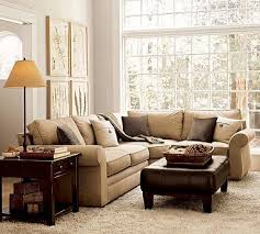 Sectional Pottery Barn 36 Best Dens With Sectionals Images On Pinterest U Shaped