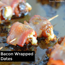 bacon wrapped dates savory experiments