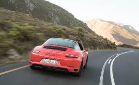 porsche targa 2017 2017 porsche 911 targa 4 gts test drive rear view gallery photo 4