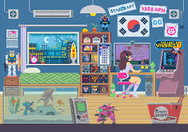 pixel art halloween background dva pixel art gaming gifs and video games