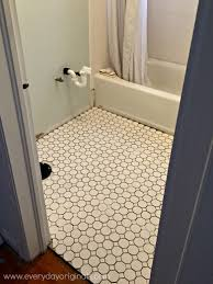 tiling a small bathroom floor