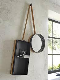 mirror vanity shelf entry designer outofstock ligne roset