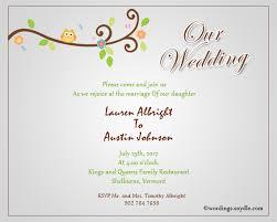 wedding invitation words informal invitation europe tripsleep co