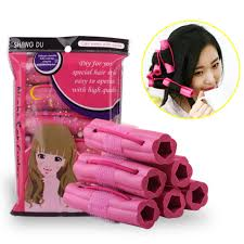 sleeping on short hair 10 2 5cm sponge rollers hair curler sponge foam sleeping beauty