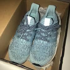 light blue adidas ultra boost adidas shoes light blue ultraboost size 80 poshmark