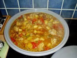 menu cuisine marocaine recette tajine de poulet aux chignons plat marocain 750g