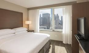 Two Bedroom Hotel Suites In Chicago Hotel Embassy Suites Magnificent Mile Chicago Il Booking Com