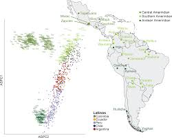 Latin America Map Test by Genomic Insights Into The Ancestry And Demographic History Of