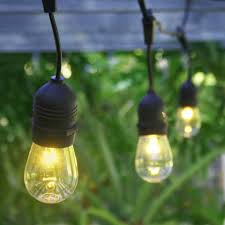 Patio String Lighting Ideas by Commercial Outdoor String Lights Ideas