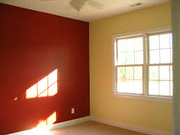 paintingbedroom two different colors green living room wall with