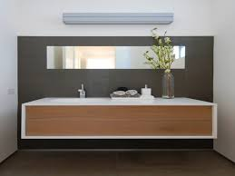 bathroom design bathroom long two tones wooden floating vanity