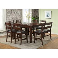 viola heights counter height extendable dining set