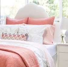 nursery beddings coral and white bedding sets together with lili