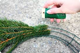 how to make wreaths how to make an evergreen wreath real mountain values
