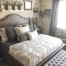 Rustic Chic Bedroom - rustic farmhouse bedroom looking for affordable hair extensions