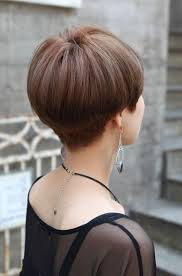 front and back views of chopped hair related posts of back view of short wedge haircut hairstyles