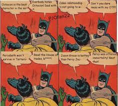 Slappin Batman Meme Generator - slappin batman birthday meme mne vse pohuj
