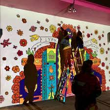 modern mural mural you are radiant u2013 artelexia