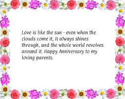 wedding quotes parents silver wedding anniversary poems for parents tbrb info