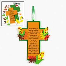 indian corn legend cross craft for church