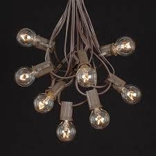 globe shaped outdoor g30 light string sets novelty lights inc
