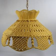 Design For Wicker Lamp Shades Ideas 45 Best Lamp Shades Macrame Images On Pinterest Lampshades