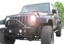 all things jeep front mass articulation stubby recovery bumper