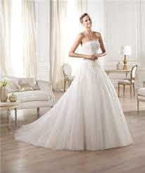 a line princess wedding dress a line princess strapless lace tulle draped wedding dress
