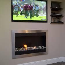 dublin wall mounted bio ethanol fire contemporary elements