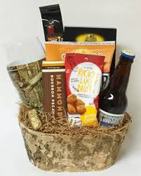 Bourbon Gift Basket The Basket Cases Personal And Corporate Gift Baskets For All