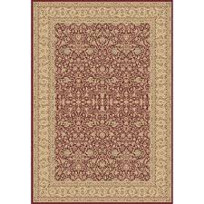 Dynamic Rugs Dynamic Rugs Legacy Red 5 Ft 3 In X 7 Ft 7 In Indoor Area Rug