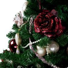 Christmas Tree Decoration Packs Uk by Vintage Pearl Theme Tree Decorating Pack Christmas Time Uk