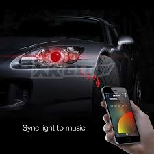mercedes led headlights xkchrome ios android smartphone app bluetooth xkchrome 2 in 1 led