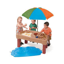 step 2 water table with umbrella adjustable sand water table with umbrella sam s club