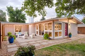Colorado Small House by Rare Cliff May Home On A Corner Lot U2014 Colorado Mid Century Modern