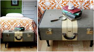 Suitcase Coffee Table Vintage Suitcase Coffee Table Diy Home Tutorials